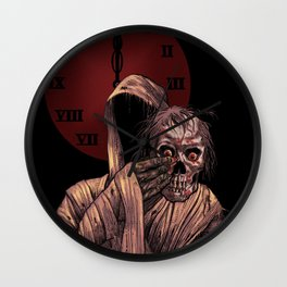 Masque of the Red Death Wall Clock