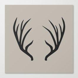 antlers Canvas Print