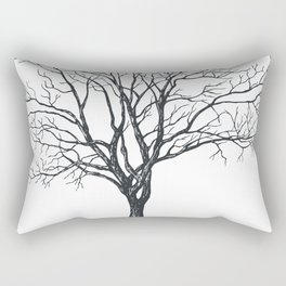 Tree without leaves Rectangular Pillow