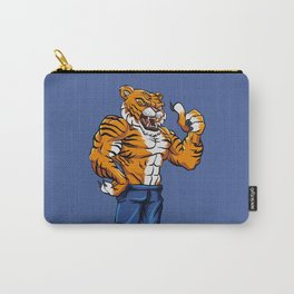 Tiger Fighter Mascot  Carry-All Pouch
