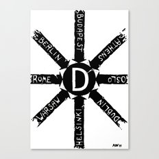 DIRECTIONS Canvas Print