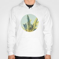 palm tree Hoodies featuring Palm by Esther Ní Dhonnacha
