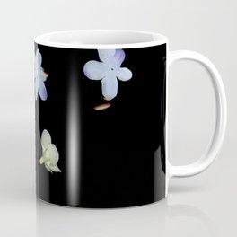 Sweet Pea, Daisy, Hydrangea Glitch Coffee Mug
