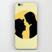 klaine iPhone & iPod Skins featuring Klaine Zig Zag by byebyesally