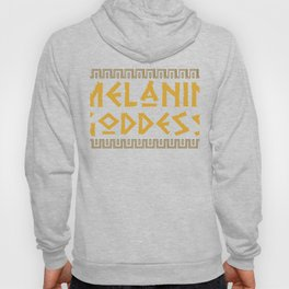 Melanin Goddess print| Black Pride product| Black Girl Power Hoody