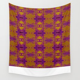 Purple lace Wall Tapestry