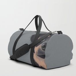 Mila the Carlin Pinscher Duffle Bag
