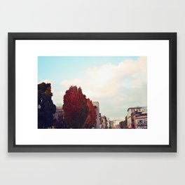 One of these Days Framed Art Print