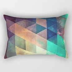 lytr vyk ryv Rectangular Pillow