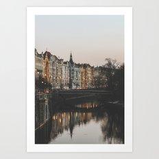 Prague, Czechia Art Print