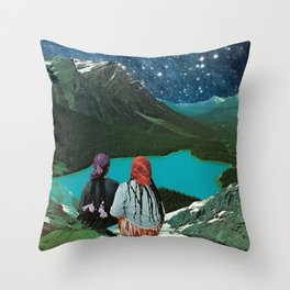 CLAIRVOYANCE Throw Pillow