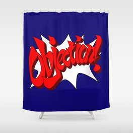 ACE ATTORNEY PHOENIX WRIGHT: OBJECTION! Shower Curtain