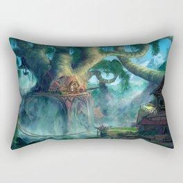 Lost Civilization Rectangular Pillow