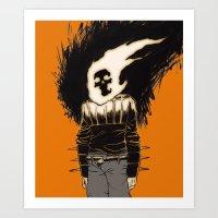 the rider Art Print