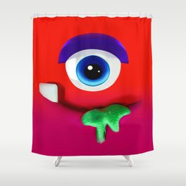 Fertucho v2 Shower Curtain