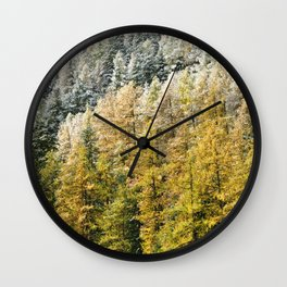 The Forest Of Colours Wall Clock