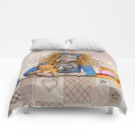 Polly Patchwork's Sewing Company Comforters