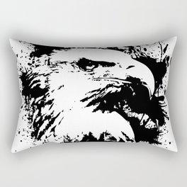 The Majestic American Bald Eagle Rectangular Pillow