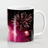 fireworks Mugs featuring Fireworks by Loaded Light Photography