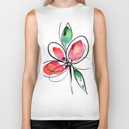Ecstasy Bloom No. 3 by Kathy Morton Stanion Biker Tank