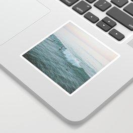 Let's Surf V Sticker