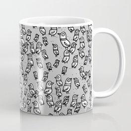 Rockwell Birds - Gray Coffee Mug