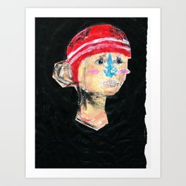 OUT HERE WE ARE ALL THE SAME Art Print
