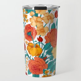 Vintage flower garden Travel Mug