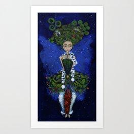"""Earth Girl"" painting by Emma Gardner Art Print"