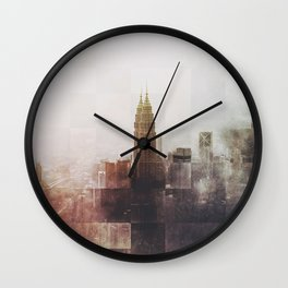 Fractions A43 Wall Clock
