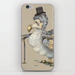 Grumpy Dodo_light iPhone Skin