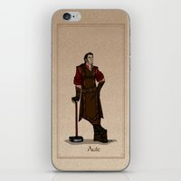 valar morghulis iPhone & iPod Skins featuring Aule by wolfanita