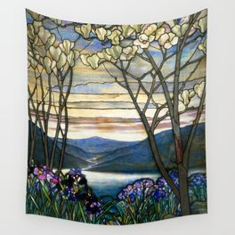 Louis Comfort Tiffany - Decorative stained glass 5. Wall Tapestry