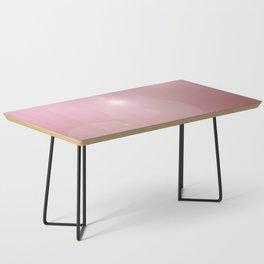 Pinkish Pastel Coffee Table