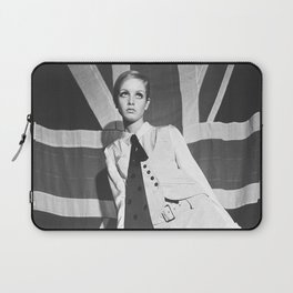 Old British Top Model Laptop Sleeve