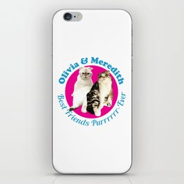 Olivia & Meredith Best Friends iPhone Skin