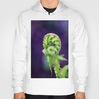 fern Hoodies featuring Fern by LoRo  Art & Pictures