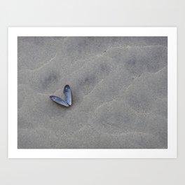 I heart you Art Print