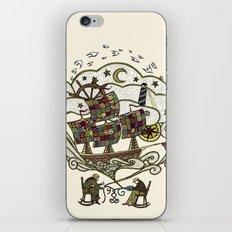 My Father was a Sailor, and My Mother, a Quilter iPhone & iPod Skin