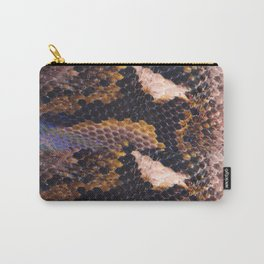 Snakeskin landscape Carry-All Pouch