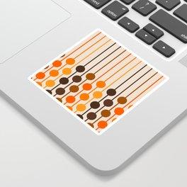 Golden Sixlet Sticker