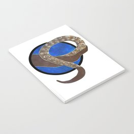 Creature of Water (porthole edit) Notebook