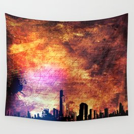 Old city Wall Tapestry