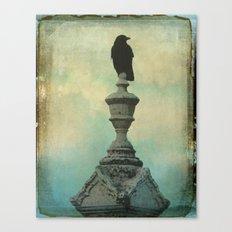Ornate Crow Canvas Print
