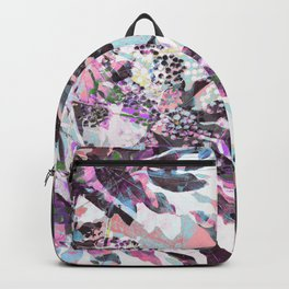 Tropical Adventure in Pink Backpack