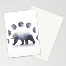 Moon Bear Stationery Cards