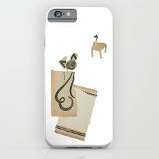 cat on a carpet Slim Case iPhone 6s