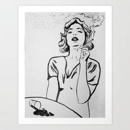 Hermine Art Print