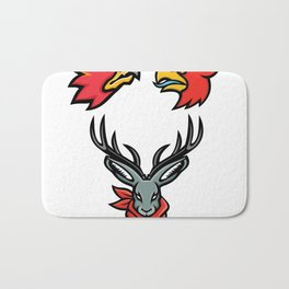 Mythical Creatures Mascot Collection Bath Mat