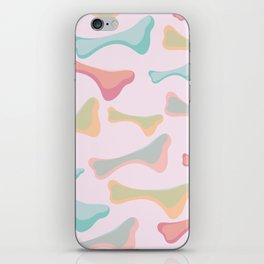 abstract bone iPhone Skin